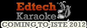 Edtech Karaoke ISTE Party 2012