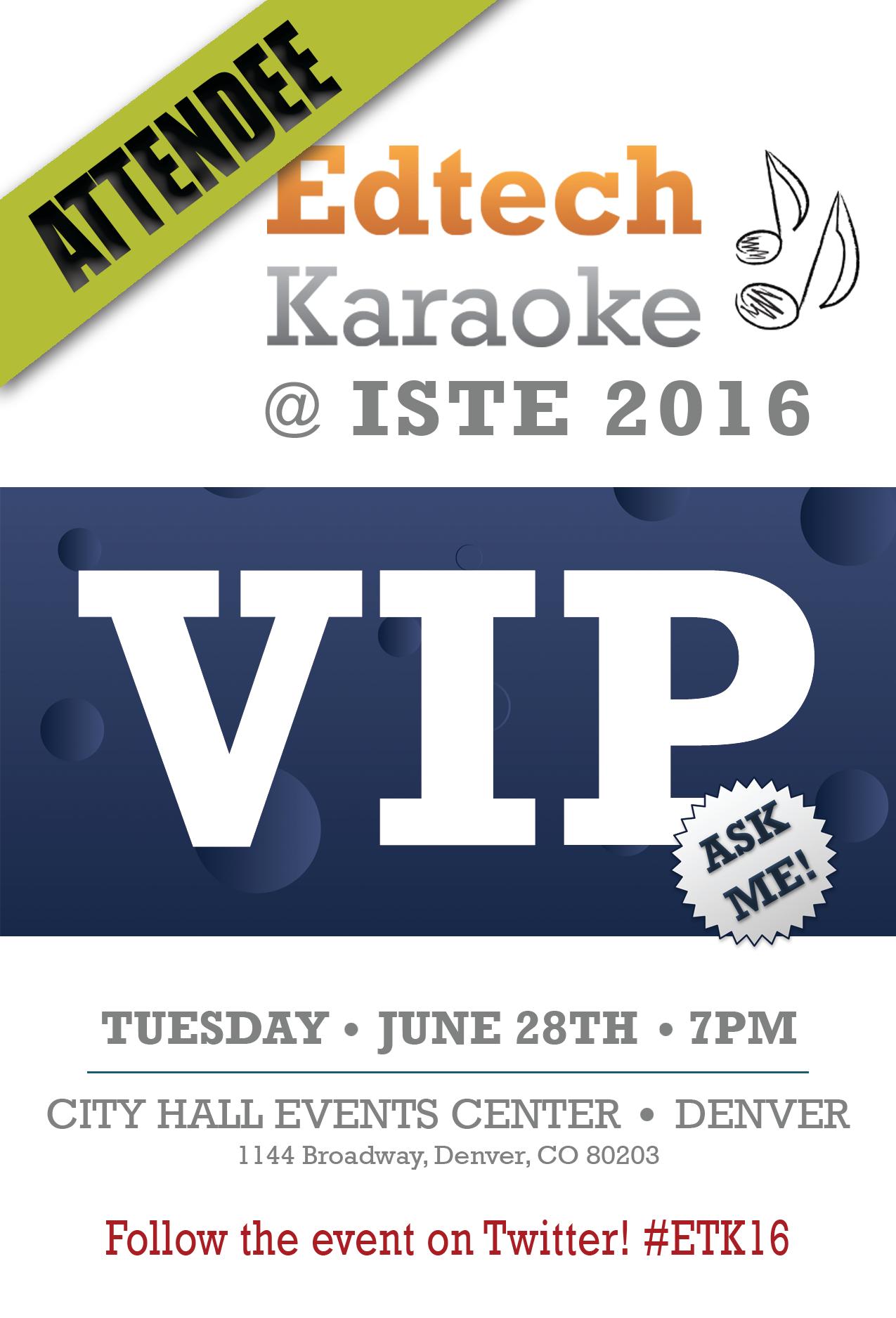 ETK @ ISTE 2016 Tickets, Tue, Jun 28, 2016 at 7:00 PM | Eventbrite