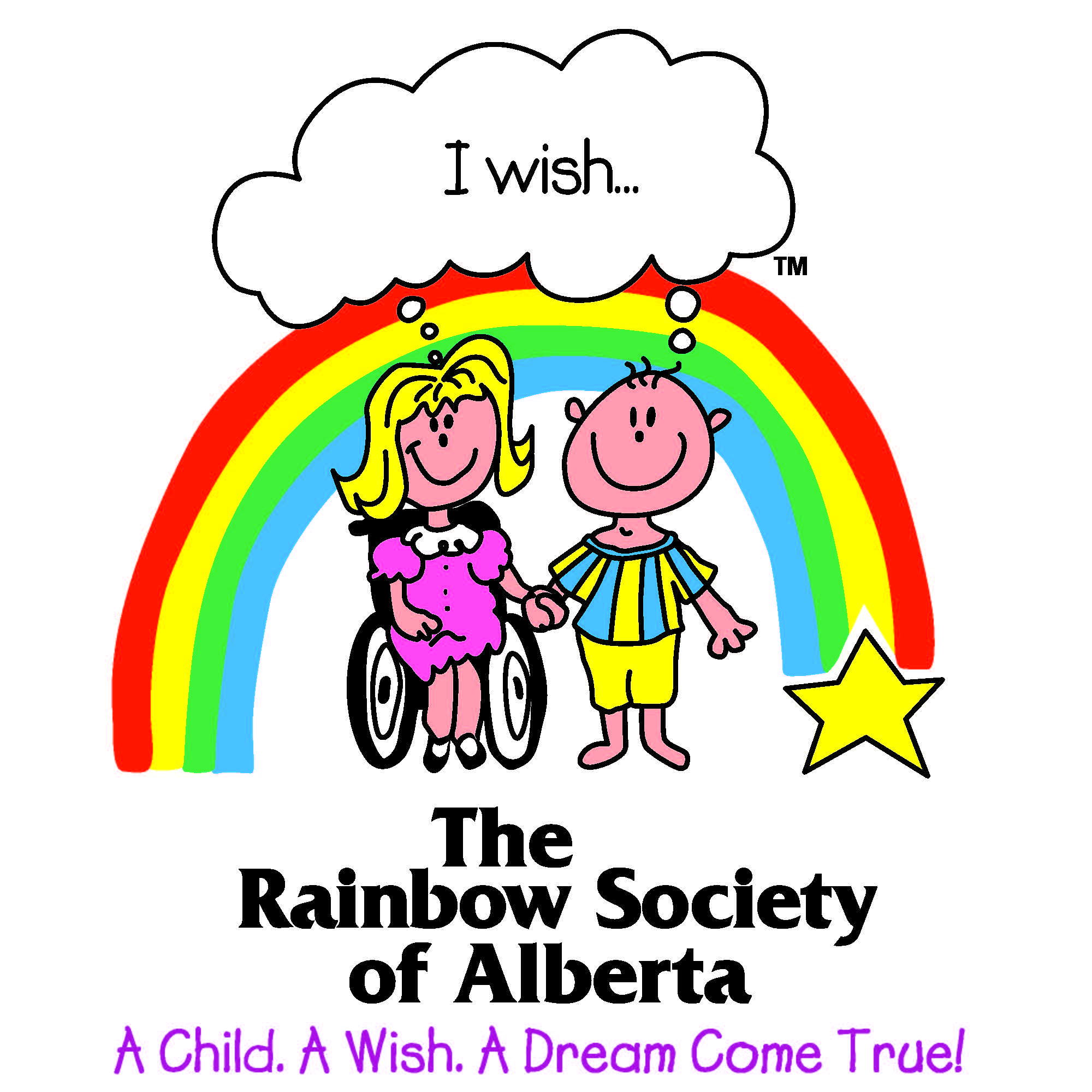 The Rainbow Society of Alberta Logo