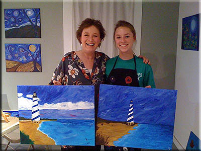 Lighthouse painters