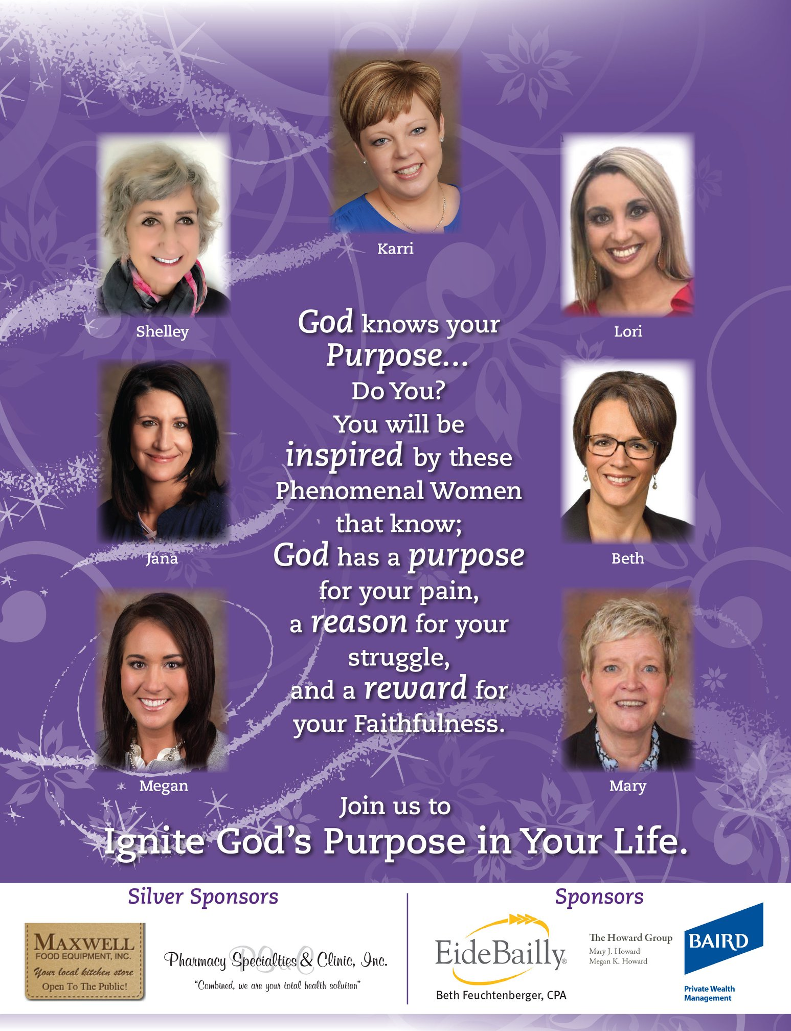 Women Ignited By Faith Speakers