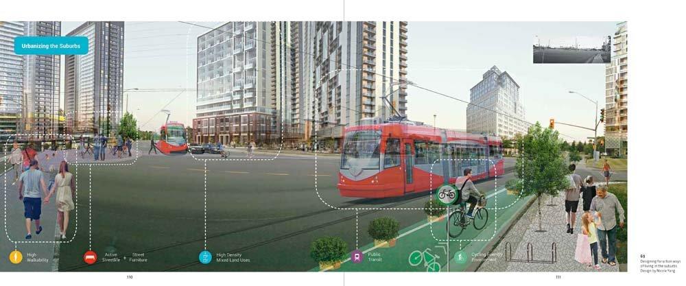 Suburban redesign