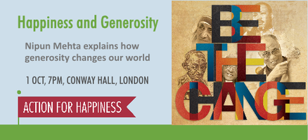 Happiness and Generosity