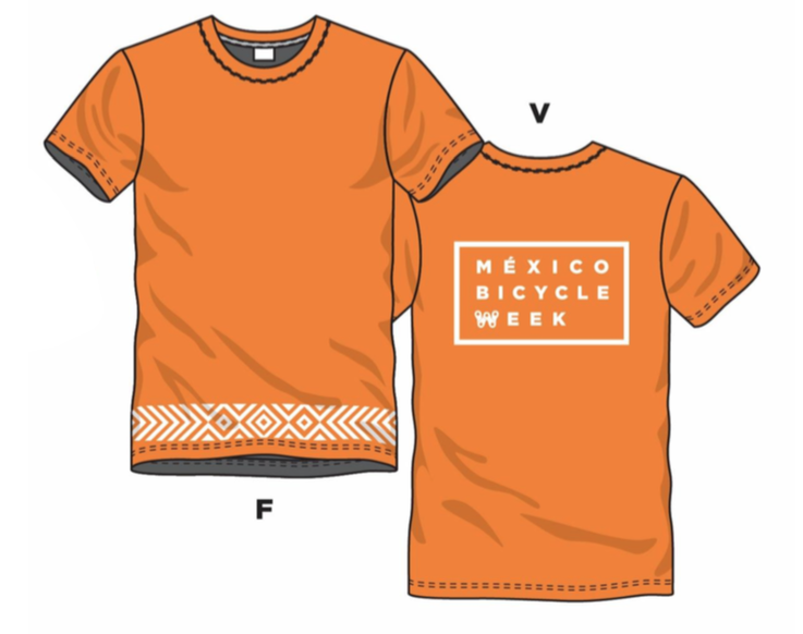 TShirt Orange MBW