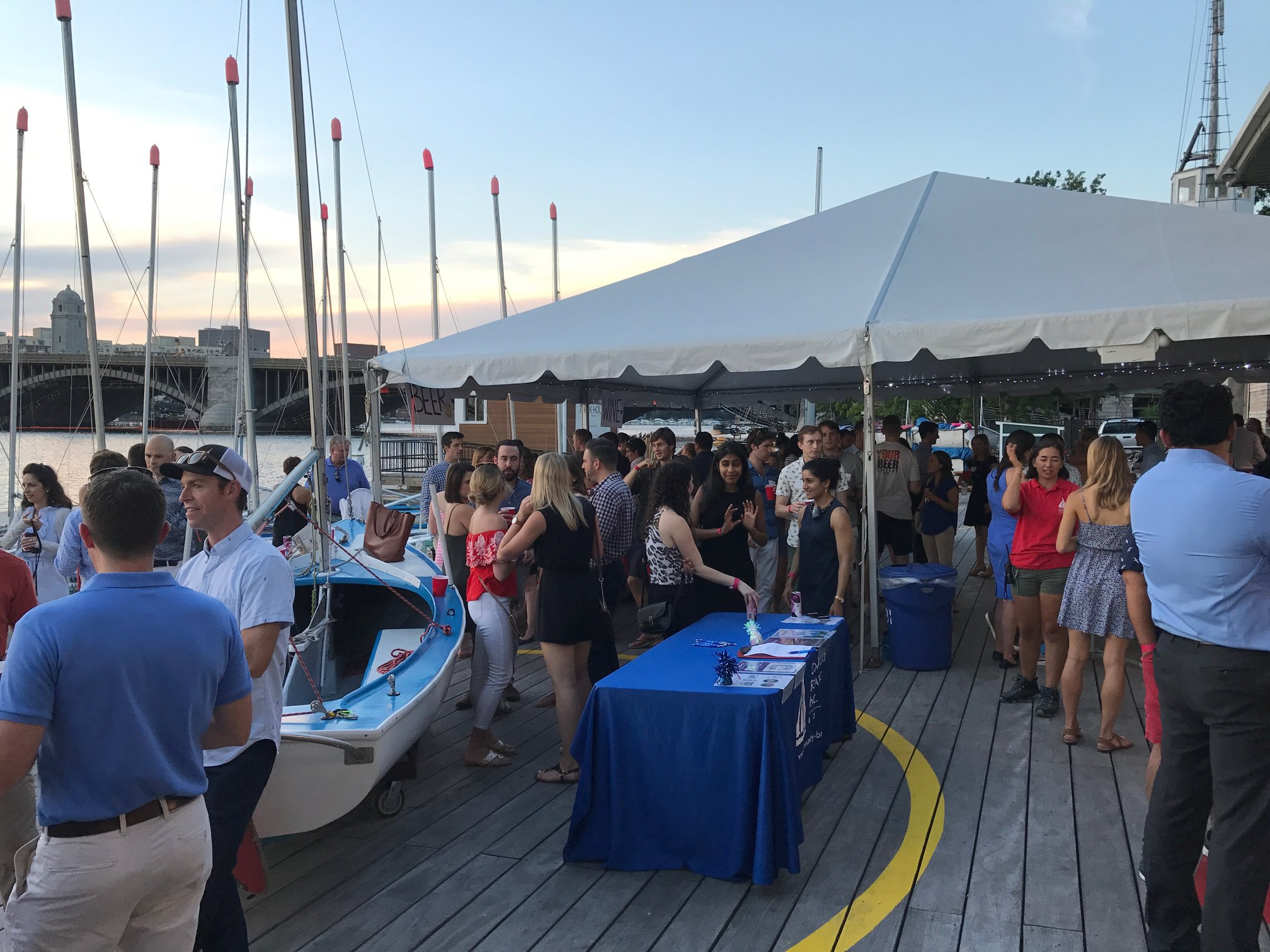 Picture of 2017 dock party