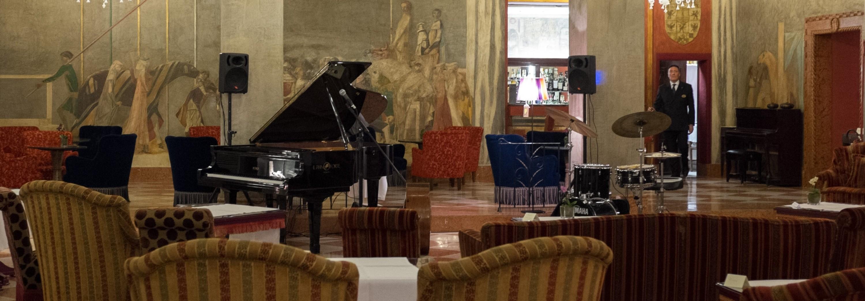 La bella sala trecentesca dove si tiene il Concerto Live