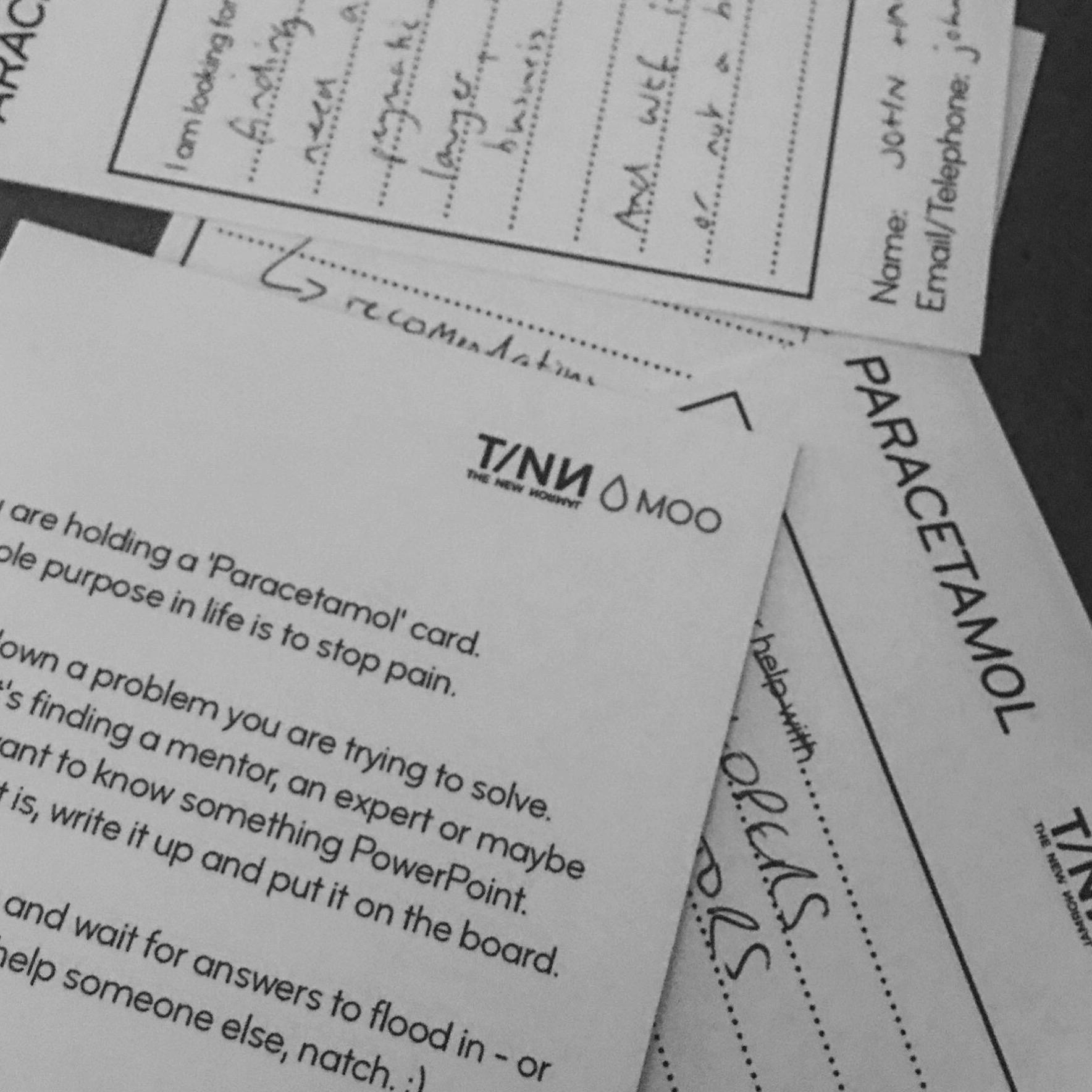 Paracetamol Card at TNN