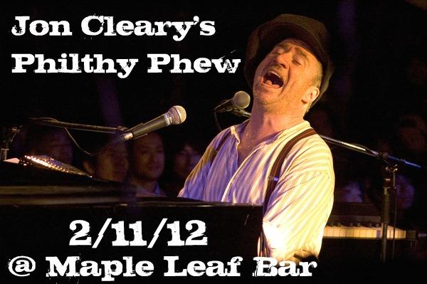 Jon Cleary's Philthy Phew - 2/11/12