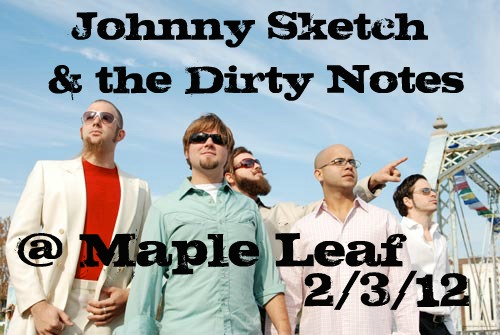Johnny Sketch @ the Leaf 2/3/12