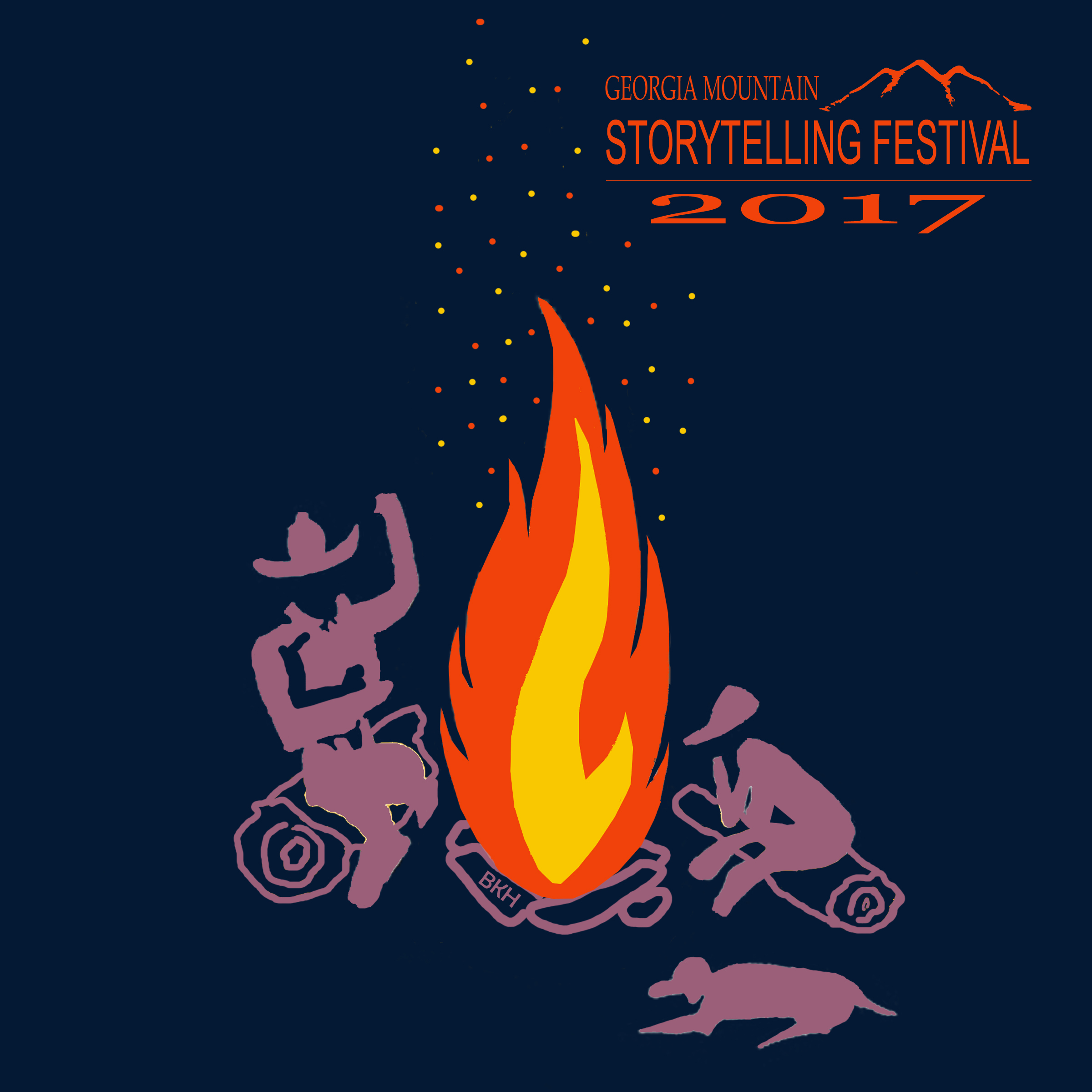 2017 festival t-shirt with storyfire logo