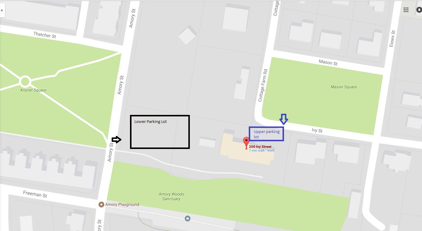 Ivy Street School parking details