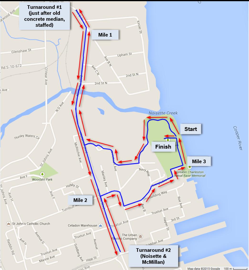 2017 race course