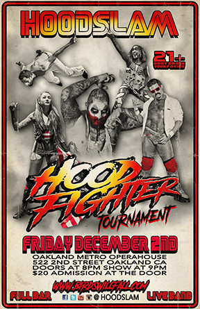 Hoodfighter poster