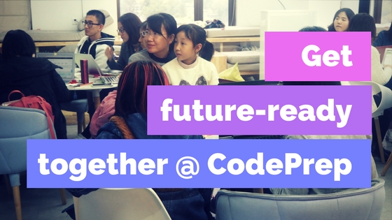 Get future-ready together at CodePrep