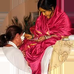 Amma Sri Karunamayi - Individual Blessings
