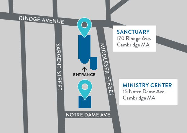 Map of Reservoir Church Campus