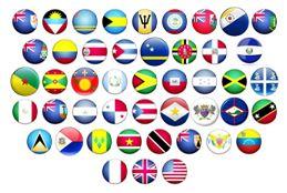 Caribbean Flag Display