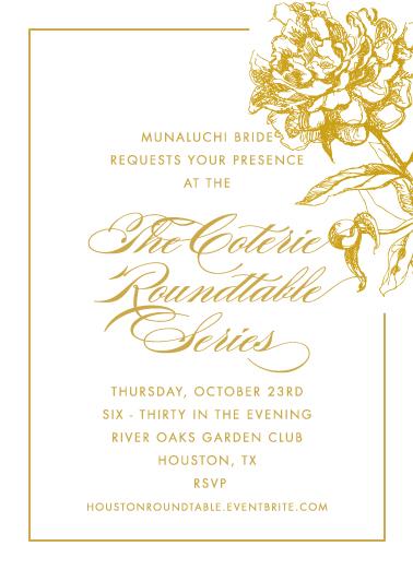 houston roundtable invitation