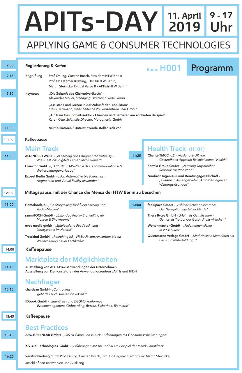 APITsDay 2019 Programm