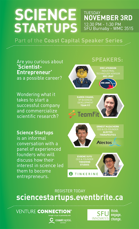Science Startups - Poster