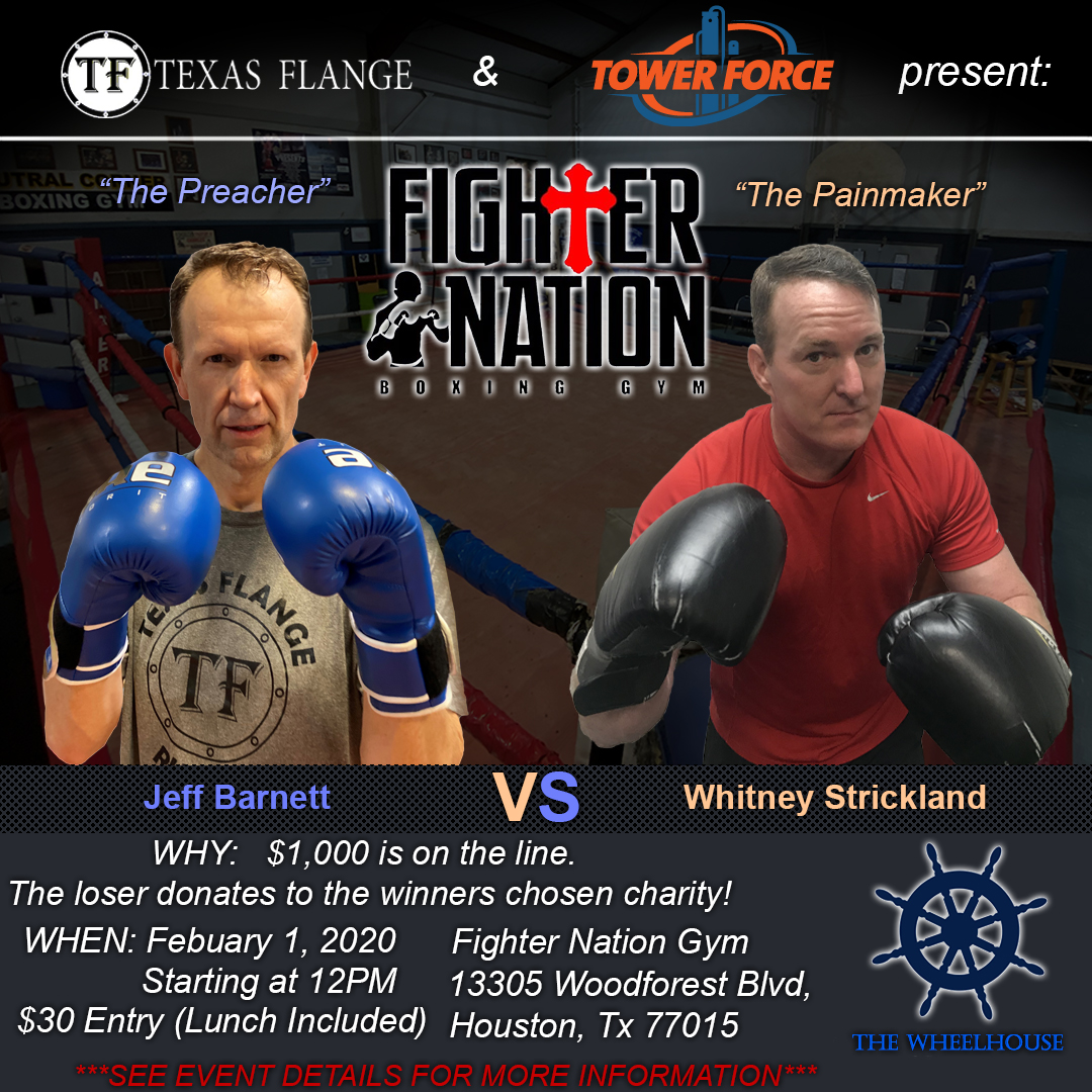 Boxing Match For Charity At Fighter Nation