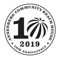Annenberg Community Beach House 10th Anniversary logo