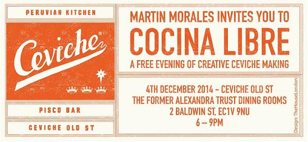 Cocina Libre invite