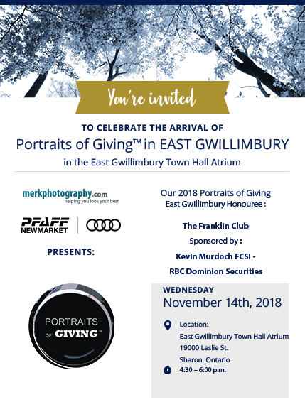 Portraits of Giving by Merk Photography arrives in EG