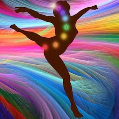 Dancing Chakra Silhouette