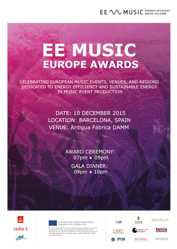 EE MUSIC Poster Awards