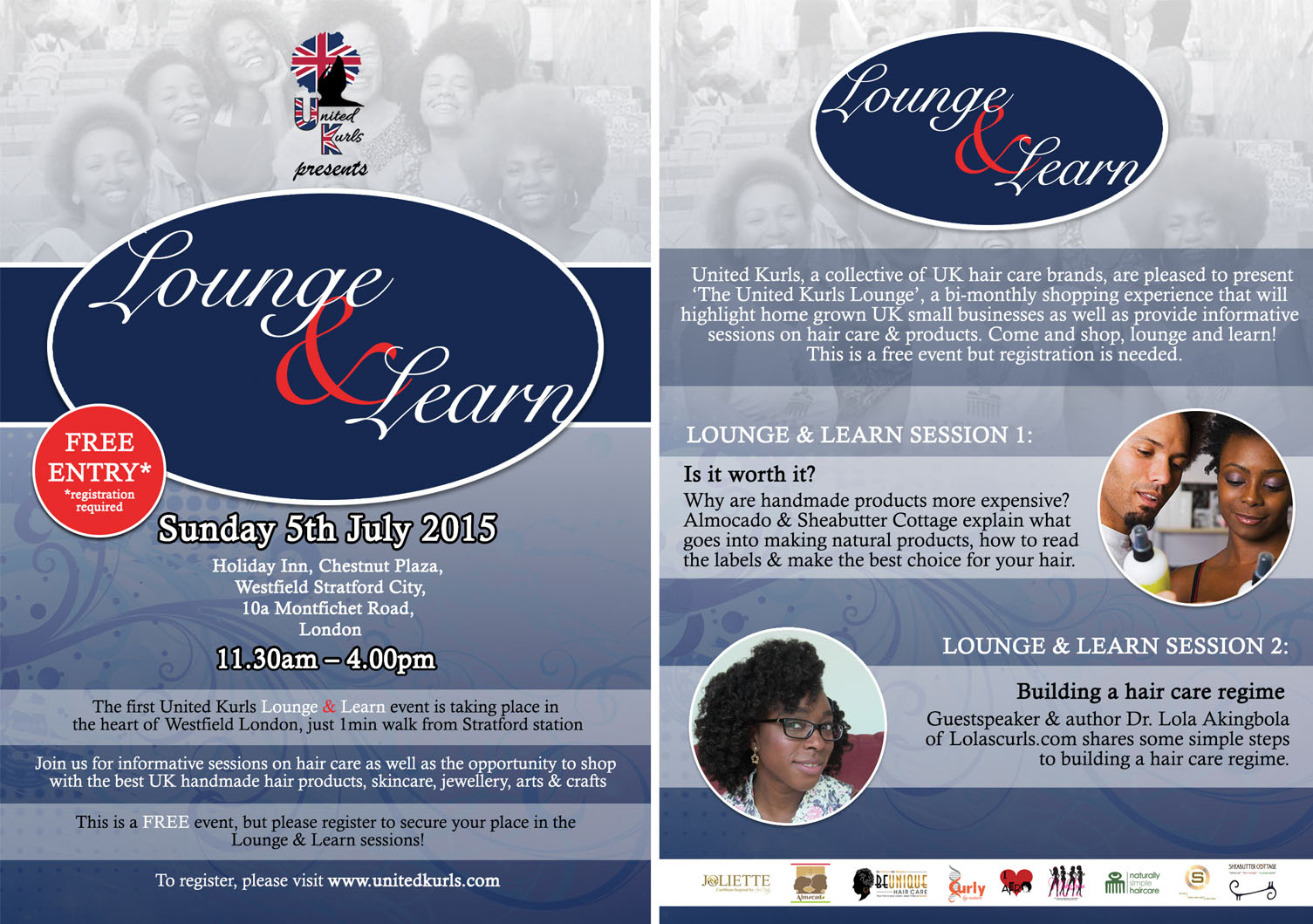 United Kurls: Lounge & Learn