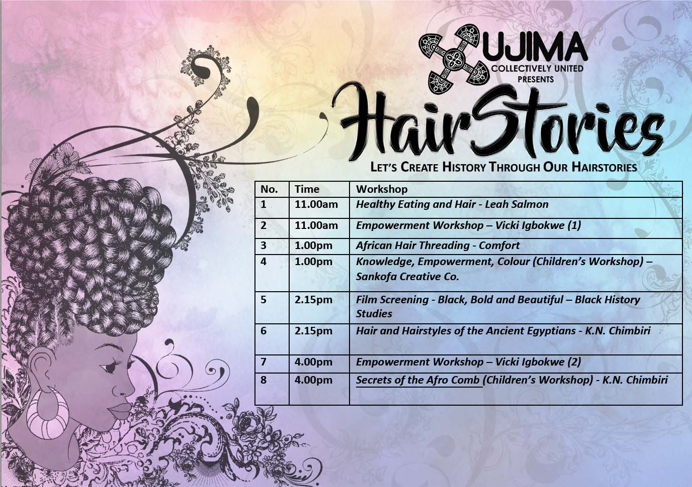 timetable hairstories