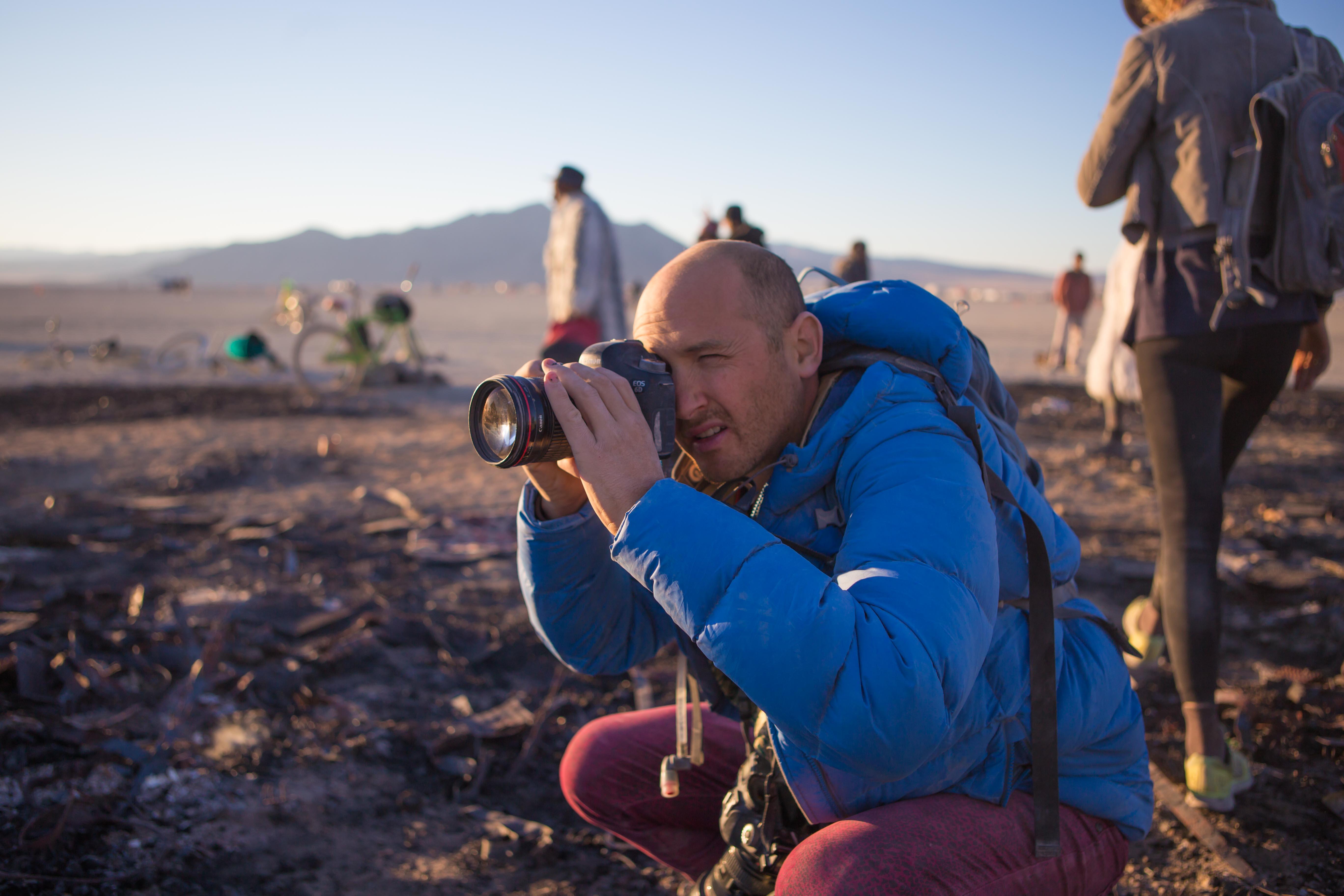 Jonathan Clark at Burningman
