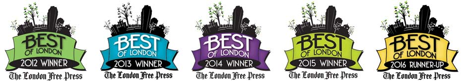 The Cafe of Life voted Best in London