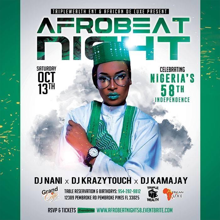 Afrobeat Nigfht