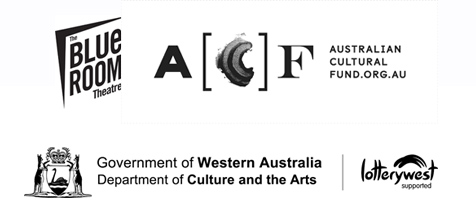 Australian Cultural Fund The Blue Room Theatre Department of Culture and the Arts logos