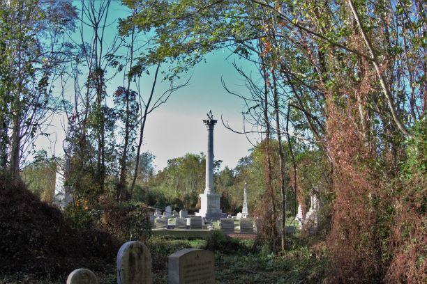 Mt Moriah Cemetery in Southwest Philadelphia