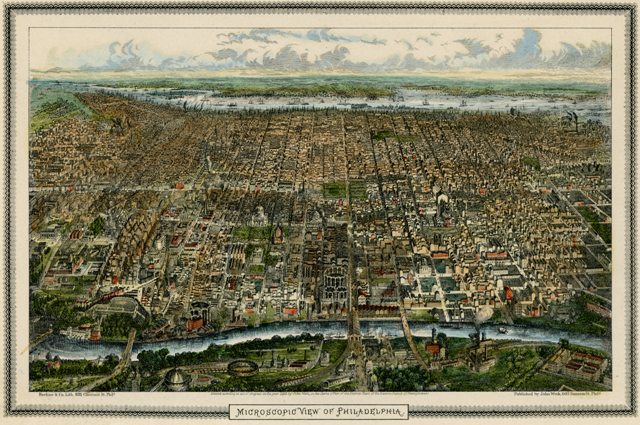 Phila Map 1865