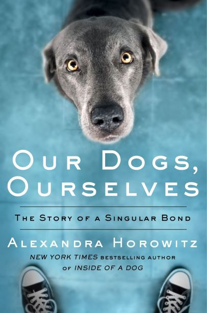 Cover of Our Dogs, Ourselves, Alexandra Horowitz's new book.