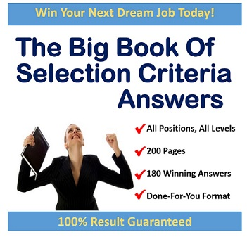 The Big Book of Selection Criteria Answers