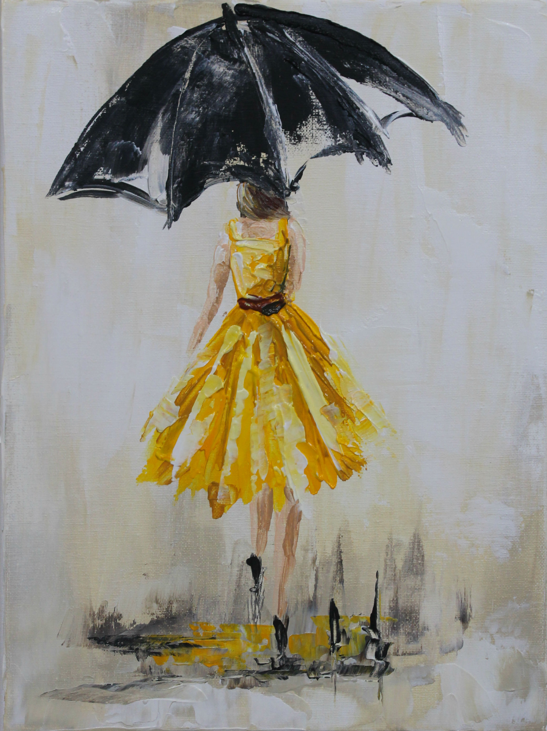 Paintclub Yellow Dress
