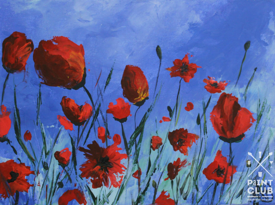 Paintclub Palette Poppies
