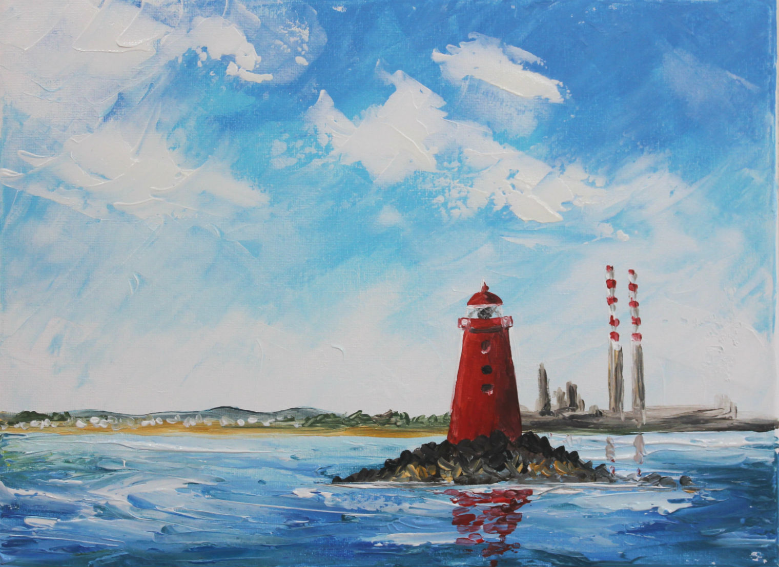 Poolbeg Lighthouse Paintclub