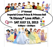 "ICMA - Imperial Crown Prince & Princess Ball - ""A Disney® Love..."