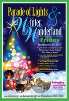 San Rafael Parade of Lights and Winter Wonderland
