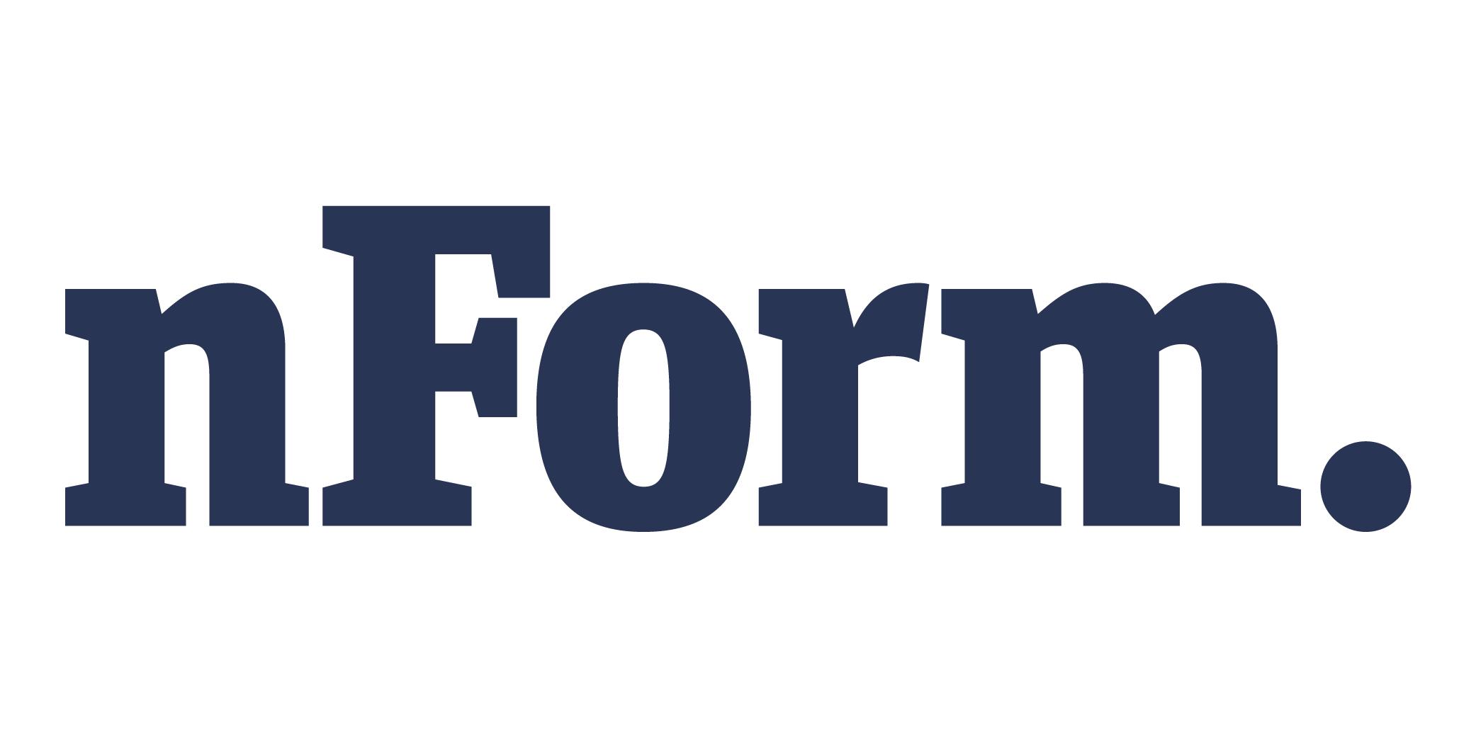 nForm logo