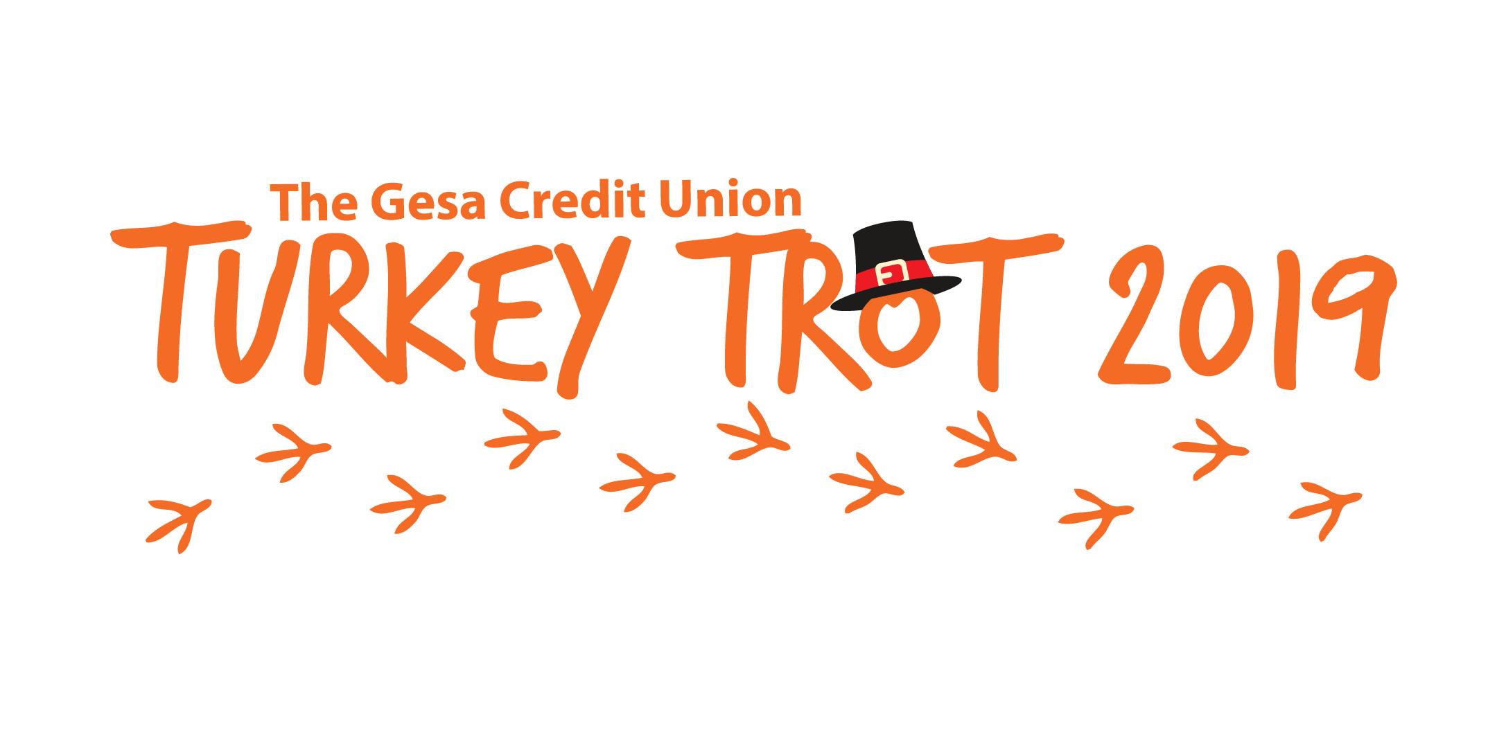 2019 Gesa Turkey Trot Logo