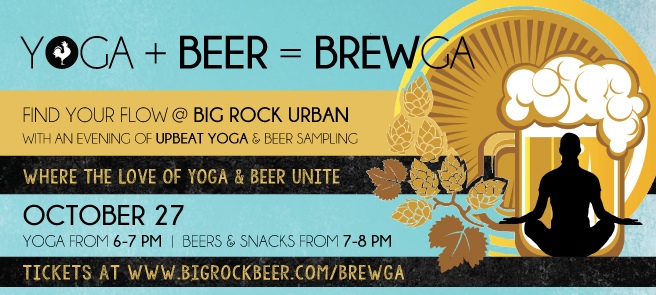 Beer Yoga Brewga Vancouver Big Rock