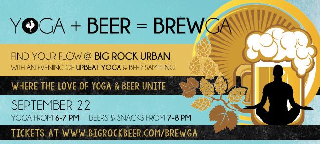 Beer Yoga Brewga Vancouver Big Rock