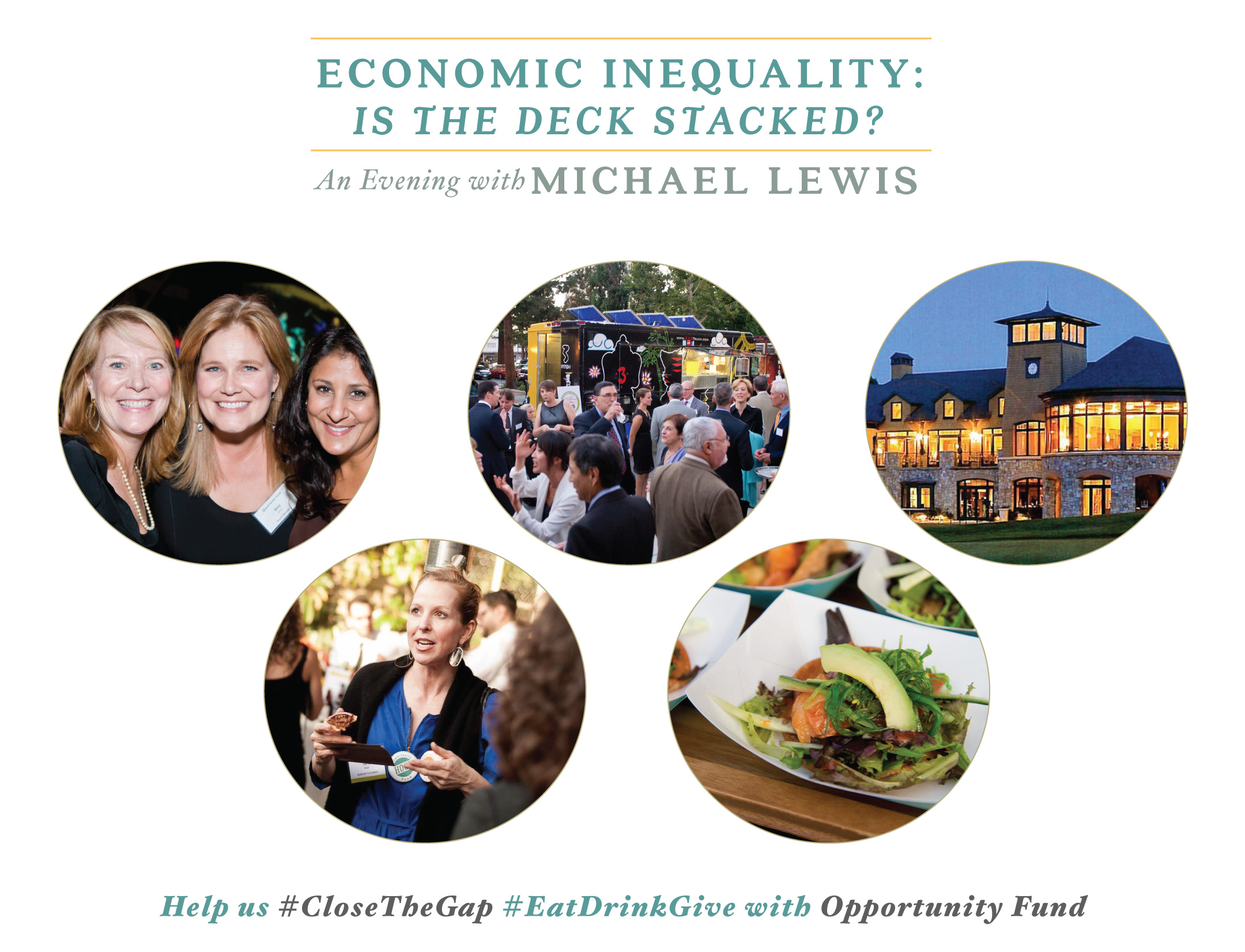 An Evening with Michael Lewis benefiting Opportunity Fund